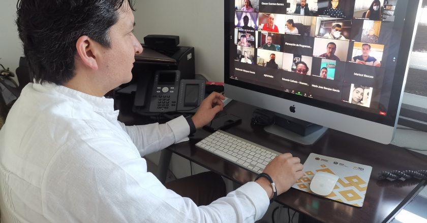 """Ing. Eleazar Guerrero de la DGVI-SSP en videoconferencia """"Delitos Cibernéticos"""""""