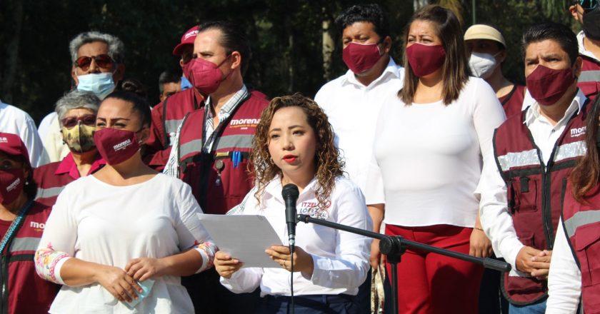 TRABAJAREMOS POR EL BIENESTAR DE TODOS: ITZEL LÓPEZ LÓPEZ