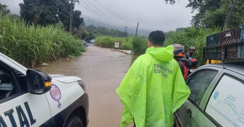 Cierre de Circulación en carretera La Laguna-Pacho Viejo: DGTSV