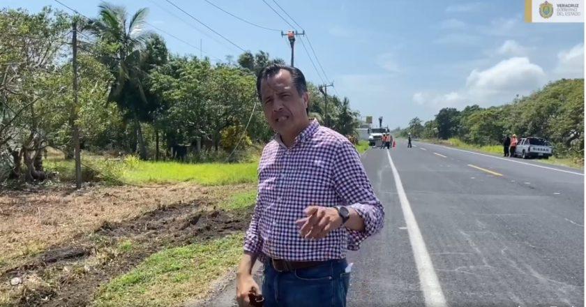 Planteará gobernador Cuitláhuac prolongar regreso a clases en zona de impacto del Huracán Grace