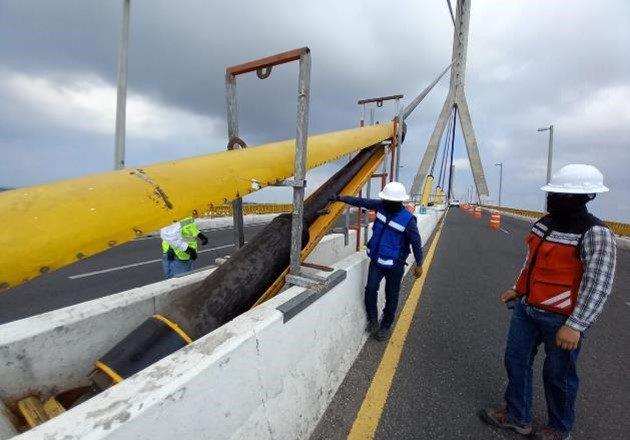 Mantenimiento en Puente Nacional de Cuota Tampico avanza satisfactoriamente sin afectación a personas usuarias