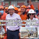 AMLO en Minatitlán Parlamento Veracruz  Juan Javier Gómez Cazarín