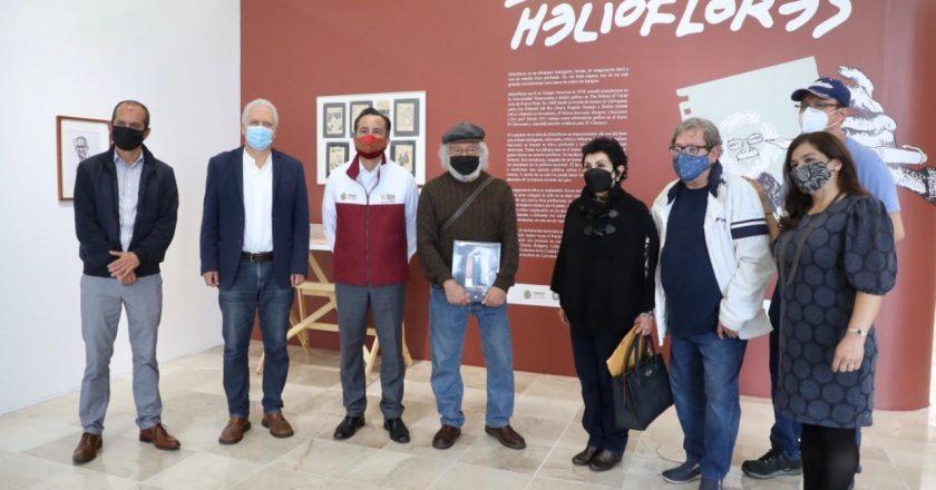 """Con inauguración de la exposición """"Helioflores"""", recintos culturales reabren sus puertas"""
