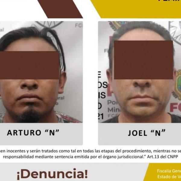 Son detenidos probables feminicidas en Perote