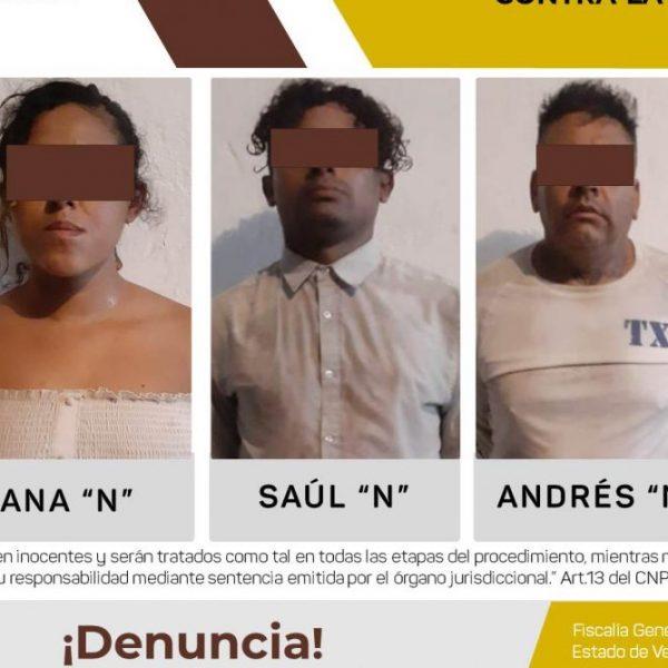 Tres imputados por delito contra la salud en Tuxpan