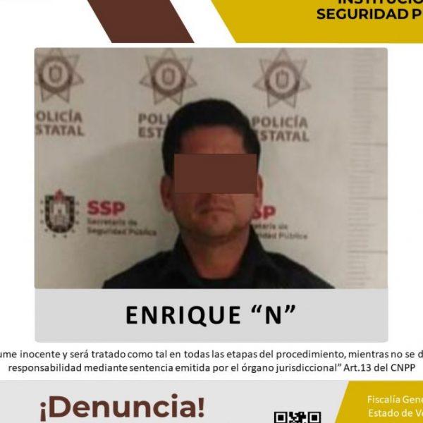 """Vinculan a proceso a Enrique """"N"""" por delito contra las instituciones de seguridad pública"""